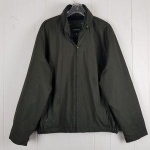 London Fog Full Zip Hoodie Jacket Size XL
